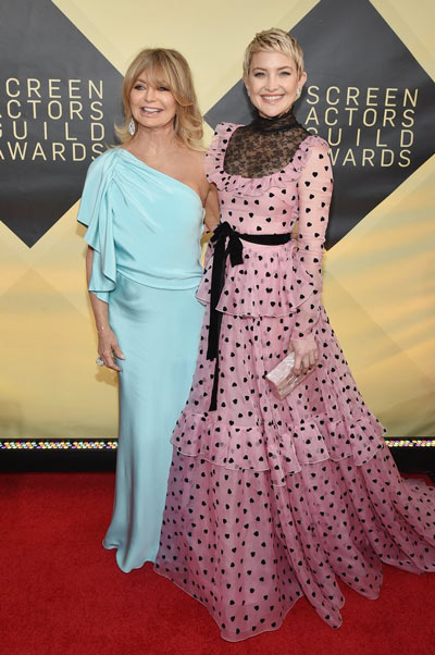 Goldie Hawn et Kate Hudson aux SAG Awards 2018