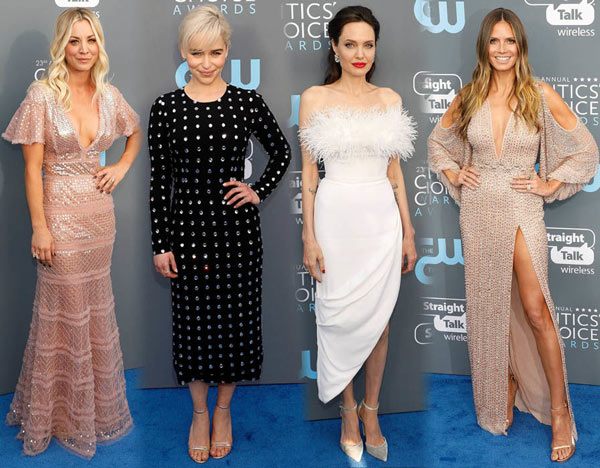 les stars féminins aux Critics Choice Awards
