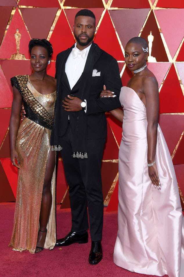 Lupita Nyong'o, Winston Duke, Danai Gurira pour 2018 Oscars