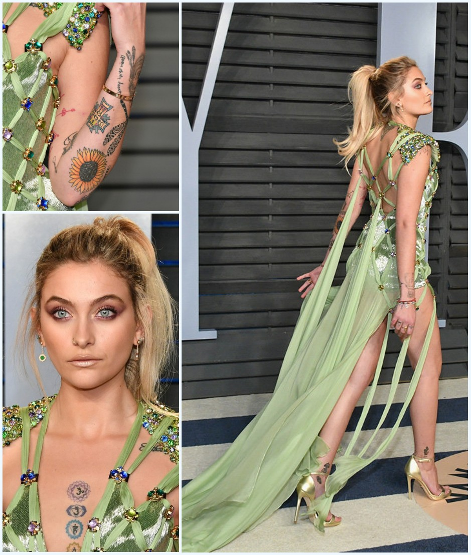 Paris Jackson au Vanity Fair 2018