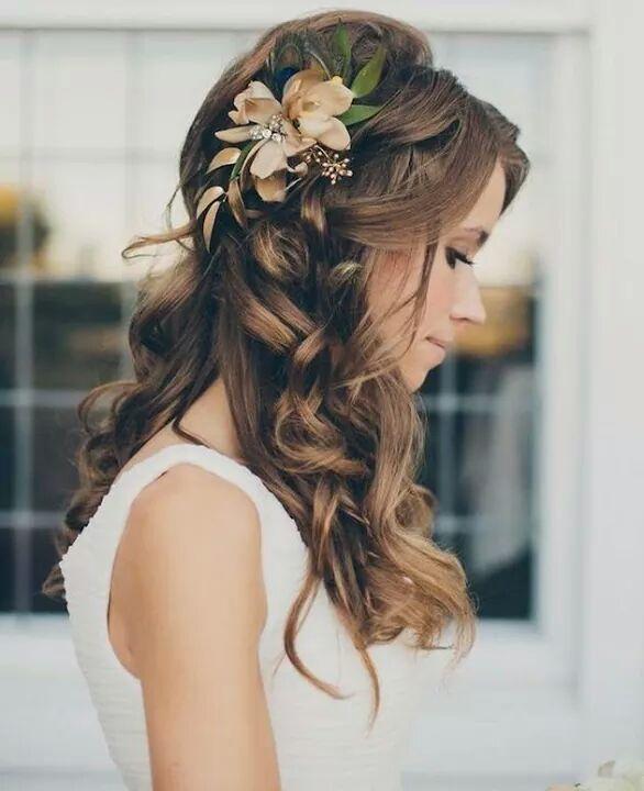 extension cheveux naturel de la mariée