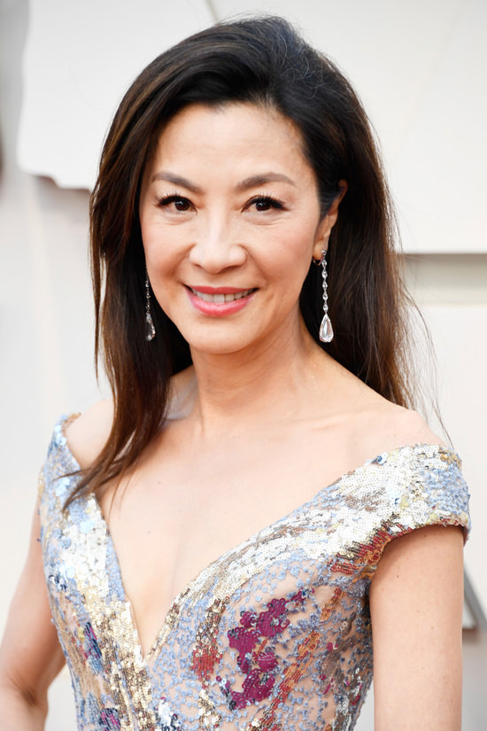 maquillage de Michelle Yeoh aux oscars 2019