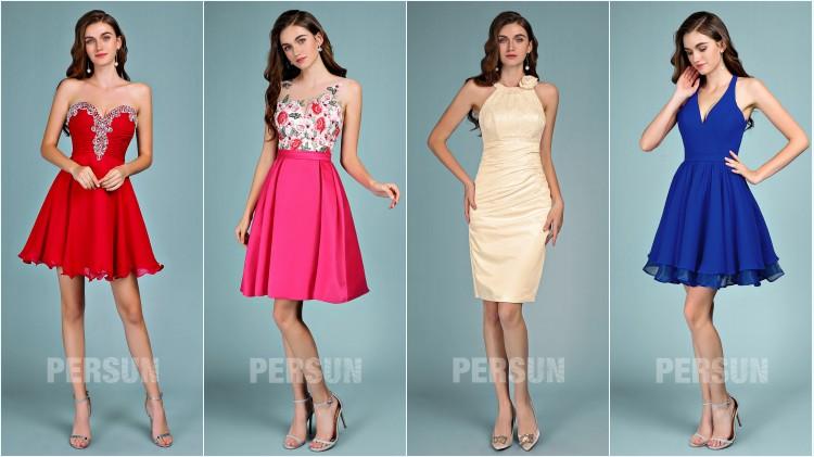 robes de cocktail pas cher courtes tendance 2019