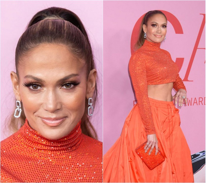 bijoux en diamant de Jennifer Lopez au CFDA Fashion Awards