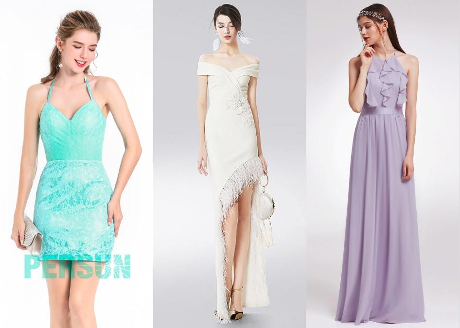robe de cocktail moderne pour femmes