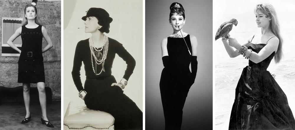 petite robe noire célèbre et ancienne