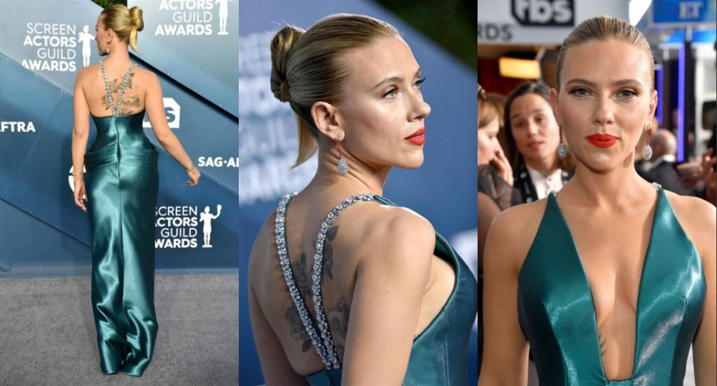 look sexy de scarlette au sag awards 2020