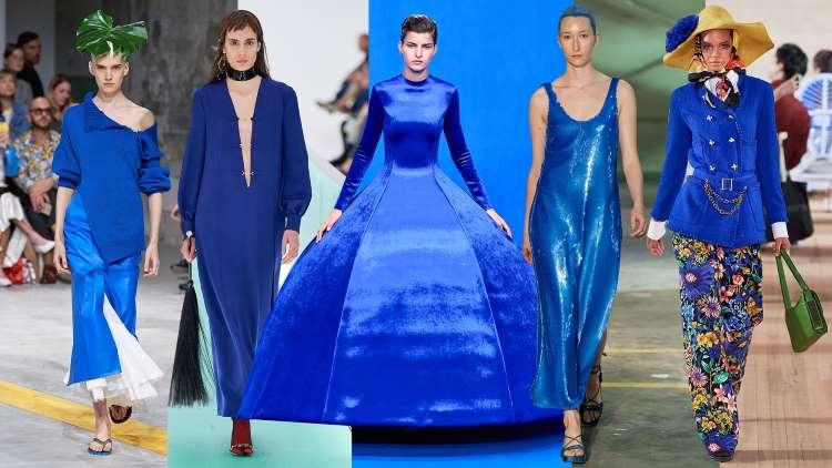 Bleu classique : la couleur de l'année 2020 pour une allure original et glamour