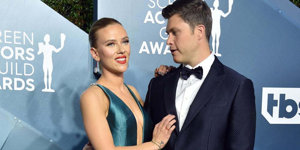 Look sexy et glamour de Scarlett Johansson aux SAG awards 2020