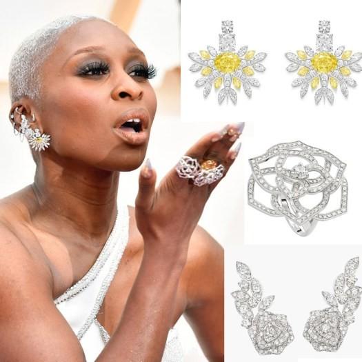 bijoux-luxe de Erivo oscars aux oscars 2020
