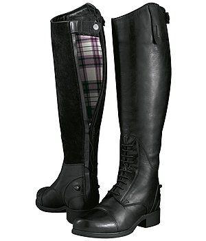 bottes d'équitation femme noir